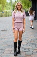Chloe Meadows At The Only Way is Essex TV Show filming in Chelmsford