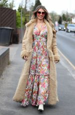 Chloe Sims At The Only Way is Essex TV Show filming