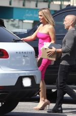 Chrishell Stause Is pretty in pink as she sports new hair cut on the set of Season 4