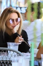 Chrishell Stause Out for a lunch meeting in Beverly Hills