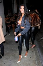 CJ Franco Is all smiles as she arrives at Catch LA in West Hollywood