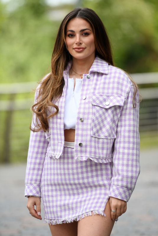 Courtney Green At The Only Way is Essex TV Show filming in Chelmsford