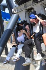 Courtney Stodden Spends the day at Six flags Magic Mountain Santa Clarita