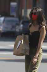 Eiza Gonzalez Gets lunch to go in West Hollywood