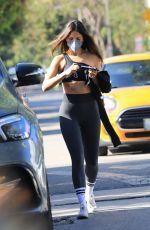 Eiza Gonzalez Leaving a workout in West Hollywood