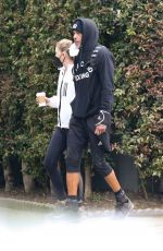 Ellen Pompeo And her hubby Chris Ivery start their week off with a couples workout in Los Feliz