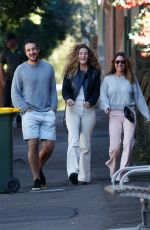Elsa Pataky Out with people in Sydney