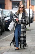 Emilia Clarke Out and about in London