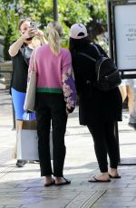 Emma Roberts At lunch in Los Angeles