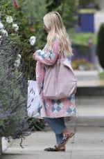 Emma Roberts Outside her house in West Hollywood