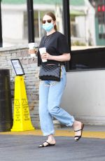 Emma Stone Out and about in Pacific Palisades