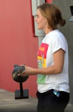 Emma Watson Looks to be having fun furniture shopping in West Hollywood