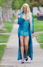Erika Jayne Was spotted on her way to the MTV Movie Awards