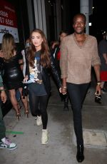 Georgia Harrison Arrives at Catch LA in West Hollywood
