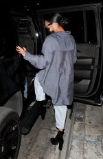 H.E.R. (Gabriella Wilson) Makes her rare appearance out on the town as she leaves a late dinner at Catch in West Hollywood