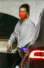Hailey Bieber Going to a doctor