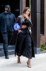 Hailey Bieber Leaving her apartment in NYC