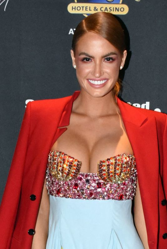 Haley Kalil At 2021 Sports Illustrated Swimsuit Charity Blackjack Tournament at the Hard Rock Hotel & Casino in Atlantic City