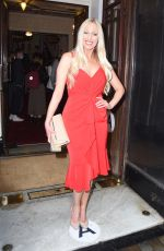 Hayley Palmer Pictured at Vaudeville Theatre Drag Queens of Pop Press Night in London