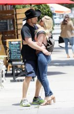 Heidi Montag and Spencer Pratt seems in a good spirit after having lunch at Don Antonio
