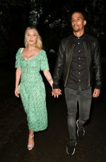 Helen Flanagan Looking fabulous out for the first time since having her new baby boy just 3 weeks ago with her fiancé footballer Scott Sinclair in Cheshire