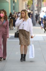 Hilary Duff Shopping in Beverly Hills