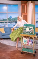 Holly Willoughby At This Morning TV Show in London