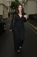 Imogen Thomas Heads for a night out in Mayfair in London