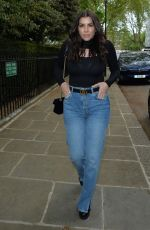 Imogen Thomas Seen heading to lunch with friends at Bluebird in Chelsea