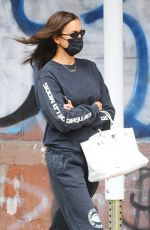 Irina Shayk Out with her daughter in NYC