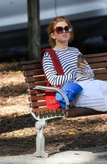 Isla Fisher Out in Sydney