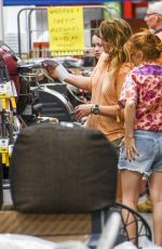 Isla Fisher Shopping at a hardware store in Sydney