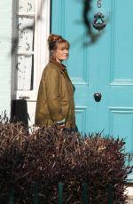 Jane Seymour Is seen on set for new eight-part tv series
