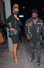Jena Frumes Enjoy a pre-baby dinner date at Catch LA in West Hollywood