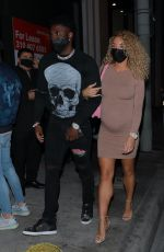 Jena Frumes On Friday night date night at Catch LA in West Hollywood
