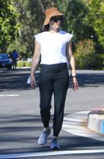 Jennifer Garner Keeps it casual as she steps out for a solo walk in Pacific Palisades