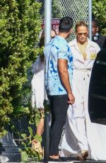 Jennifer Lopez Out at lunch in Miami Beach