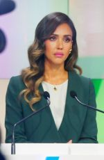 Jessica Alba At the New York Stock Exchange for her Honest Company