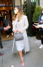 Jessica Alba Going to The Jimmy Fallon Show in NYC