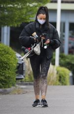 Jessica Wright Heads out to the gym in Essex