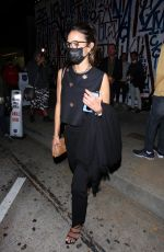 Jordana Brewster Out for dinner with a friend at Craig