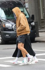 Kaia Gerber And Jacob Elordi keep a very low profile taking a stroll in New York