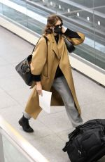 Kaia Gerber Arrives at JFK Airport for a flight out of New York