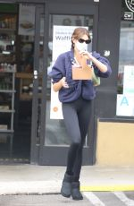 Kaia Gerber At the Earth Bar in West Hollywood