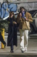 Kaia Gerber Enjoying a romantic stroll while out and about in New York