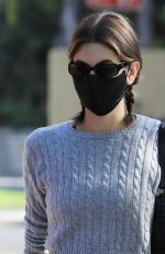 Kaia Gerber Leaving a pilates class in West Hollywood