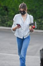 Kaia Gerber Looks chic as she leaves a cafe in Hollywood