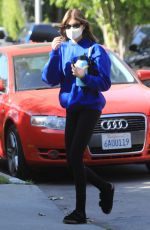 Kaia Gerber Out after Pilates class in West Hollywood