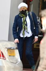 Kate Capshaw Shops at Vivienne Westwood in London