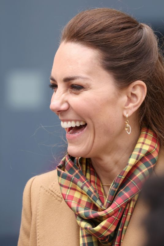 Kate Middleton On an official visit to Orkney Hospital in Kirkwall, Scotland